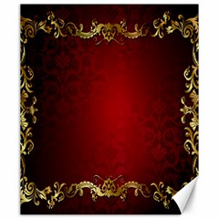 3d Red Abstract Pattern Canvas 20  X 24