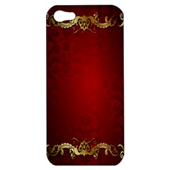 3d Red Abstract Pattern Apple iPhone 5 Hardshell Case