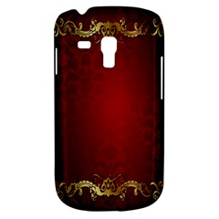 3d Red Abstract Pattern Galaxy S3 Mini