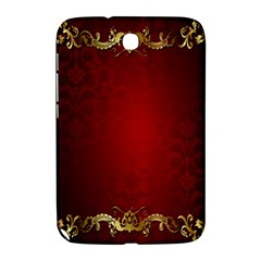 3d Red Abstract Pattern Samsung Galaxy Note 8.0 N5100 Hardshell Case