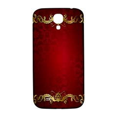 3d Red Abstract Pattern Samsung Galaxy S4 I9500/I9505  Hardshell Back Case