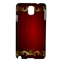 3d Red Abstract Pattern Samsung Galaxy Note 3 N9005 Hardshell Case
