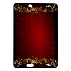 3d Red Abstract Pattern Amazon Kindle Fire Hd (2013) Hardshell Case
