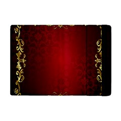 3d Red Abstract Pattern iPad Mini 2 Flip Cases