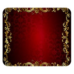 3d Red Abstract Pattern Double Sided Flano Blanket (Small)