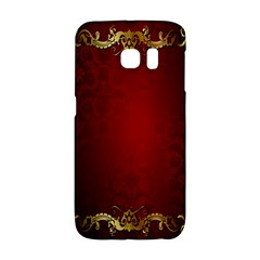 3d Red Abstract Pattern Galaxy S6 Edge