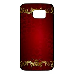 3d Red Abstract Pattern Galaxy S6