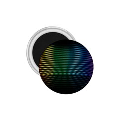 Abstract Multicolor Rainbows Circles 1 75  Magnets