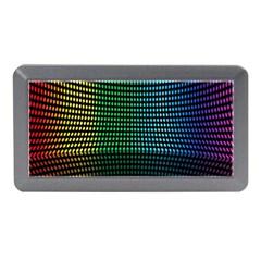 Abstract Multicolor Rainbows Circles Memory Card Reader (Mini)