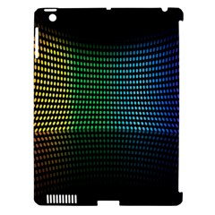 Abstract Multicolor Rainbows Circles Apple iPad 3/4 Hardshell Case (Compatible with Smart Cover)