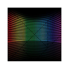 Abstract Multicolor Rainbows Circles Acrylic Tangram Puzzle (6  x 6 )