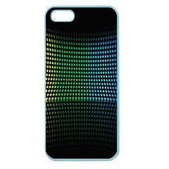 Abstract Multicolor Rainbows Circles Apple Seamless iPhone 5 Case (Color)