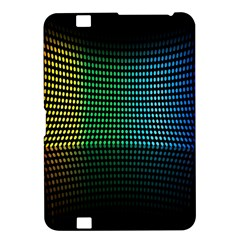 Abstract Multicolor Rainbows Circles Kindle Fire HD 8.9