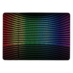 Abstract Multicolor Rainbows Circles Samsung Galaxy Tab 10 1  P7500 Flip Case
