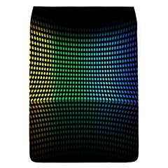 Abstract Multicolor Rainbows Circles Flap Covers (s)
