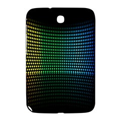 Abstract Multicolor Rainbows Circles Samsung Galaxy Note 8.0 N5100 Hardshell Case