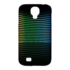 Abstract Multicolor Rainbows Circles Samsung Galaxy S4 Classic Hardshell Case (PC+Silicone)