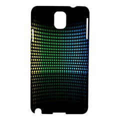Abstract Multicolor Rainbows Circles Samsung Galaxy Note 3 N9005 Hardshell Case