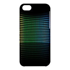 Abstract Multicolor Rainbows Circles Apple iPhone 5C Hardshell Case