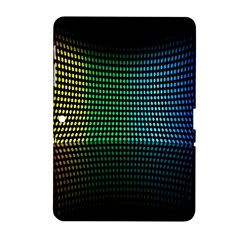 Abstract Multicolor Rainbows Circles Samsung Galaxy Tab 2 (10.1 ) P5100 Hardshell Case