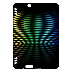 Abstract Multicolor Rainbows Circles Kindle Fire HDX Hardshell Case