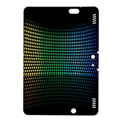 Abstract Multicolor Rainbows Circles Kindle Fire HDX 8.9  Hardshell Case