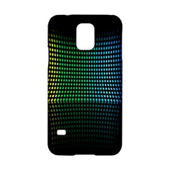 Abstract Multicolor Rainbows Circles Samsung Galaxy S5 Hardshell Case