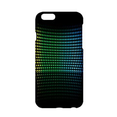 Abstract Multicolor Rainbows Circles Apple iPhone 6/6S Hardshell Case