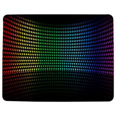 Abstract Multicolor Rainbows Circles Jigsaw Puzzle Photo Stand (Rectangular)