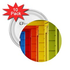 Abstract Minimalism Architecture 2.25  Buttons (10 pack)