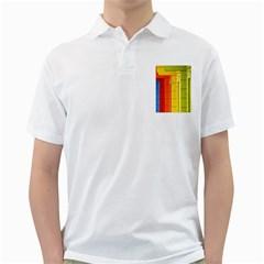 Abstract Minimalism Architecture Golf Shirts