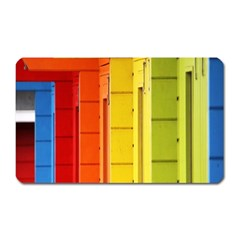 Abstract Minimalism Architecture Magnet (rectangular)