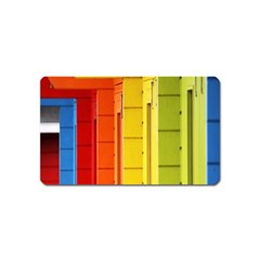 Abstract Minimalism Architecture Magnet (name Card)