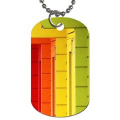 Abstract Minimalism Architecture Dog Tag (One Side)