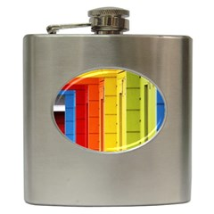 Abstract Minimalism Architecture Hip Flask (6 oz)