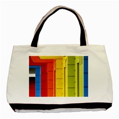 Abstract Minimalism Architecture Basic Tote Bag (two Sides)