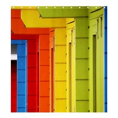 Abstract Minimalism Architecture Shower Curtain 66  x 72  (Large)