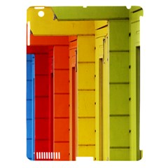 Abstract Minimalism Architecture Apple iPad 3/4 Hardshell Case (Compatible with Smart Cover)