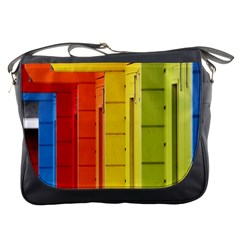 Abstract Minimalism Architecture Messenger Bags