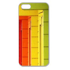 Abstract Minimalism Architecture Apple Seamless iPhone 5 Case (Clear)
