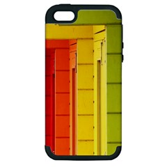 Abstract Minimalism Architecture Apple iPhone 5 Hardshell Case (PC+Silicone)