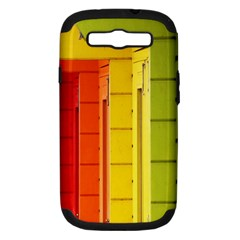 Abstract Minimalism Architecture Samsung Galaxy S III Hardshell Case (PC+Silicone)