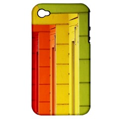 Abstract Minimalism Architecture Apple iPhone 4/4S Hardshell Case (PC+Silicone)