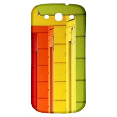 Abstract Minimalism Architecture Samsung Galaxy S3 S III Classic Hardshell Back Case