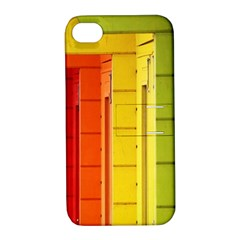 Abstract Minimalism Architecture Apple iPhone 4/4S Hardshell Case with Stand