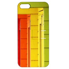 Abstract Minimalism Architecture Apple iPhone 5 Hardshell Case with Stand