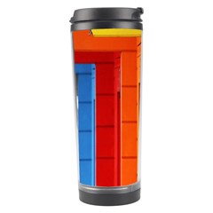 Abstract Minimalism Architecture Travel Tumbler