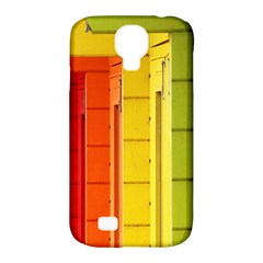 Abstract Minimalism Architecture Samsung Galaxy S4 Classic Hardshell Case (PC+Silicone)