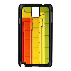 Abstract Minimalism Architecture Samsung Galaxy Note 3 N9005 Case (Black)