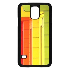 Abstract Minimalism Architecture Samsung Galaxy S5 Case (black)